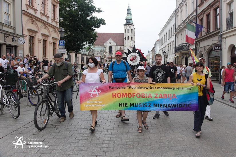 Parade für die Gleichberechtigung von LGTBI-Personen