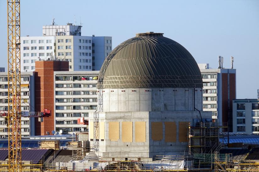 Kuppel des neuen Humboldt-Forums