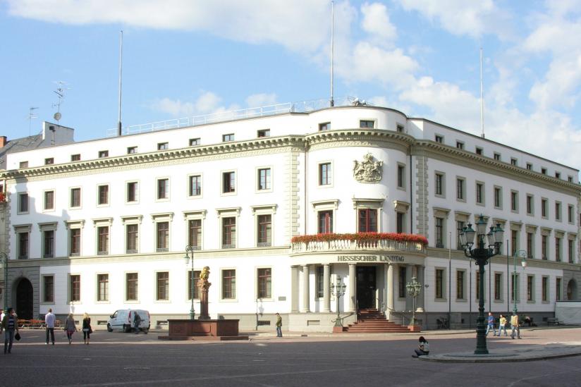Hessischer Landtag im Wiesbadener Stadtschloss
