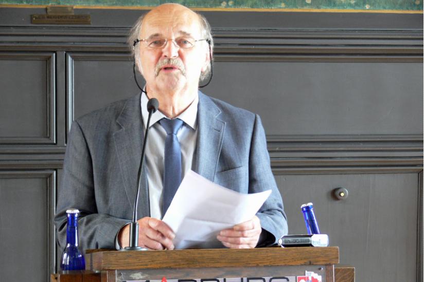 Der Preisträger Lutz Götzfried