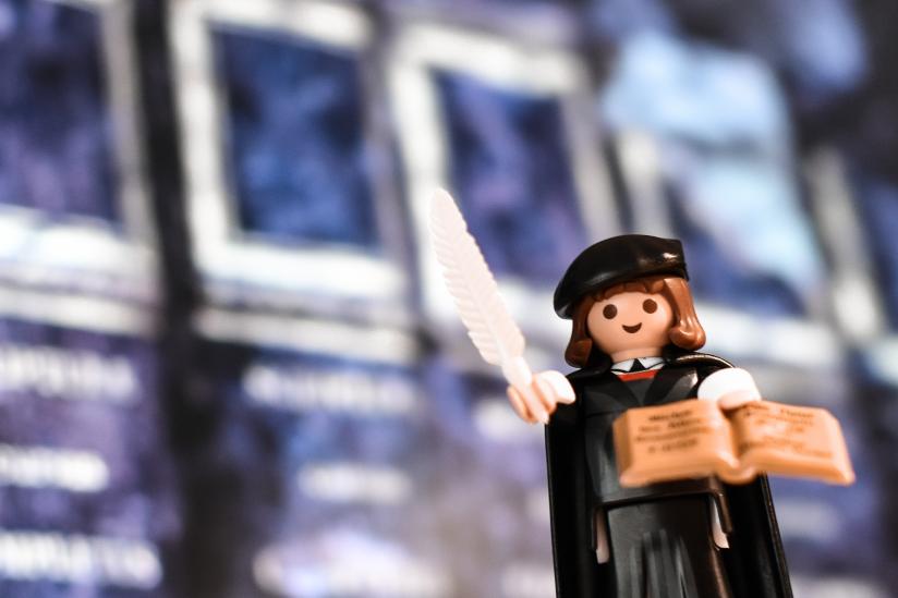 Marin Luther: Besonders beliebt als Playmobilmännchen