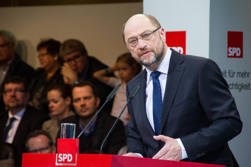 Martin Schulz bei seiner Vorstellung als Kanzlerkandidat der SPD im Januar 2017
