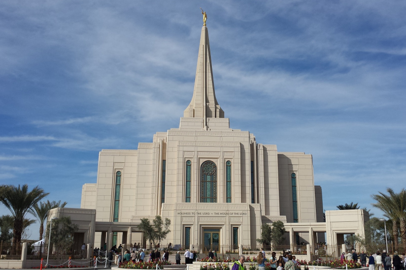 Mormonen-Tempel