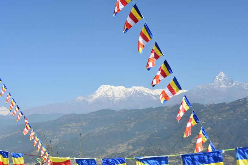 Blick zum Himalaya