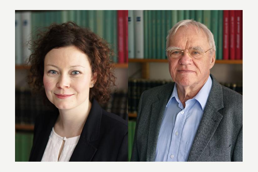 Dr. Jacqueline Neumann und Eberhard Reinecke
