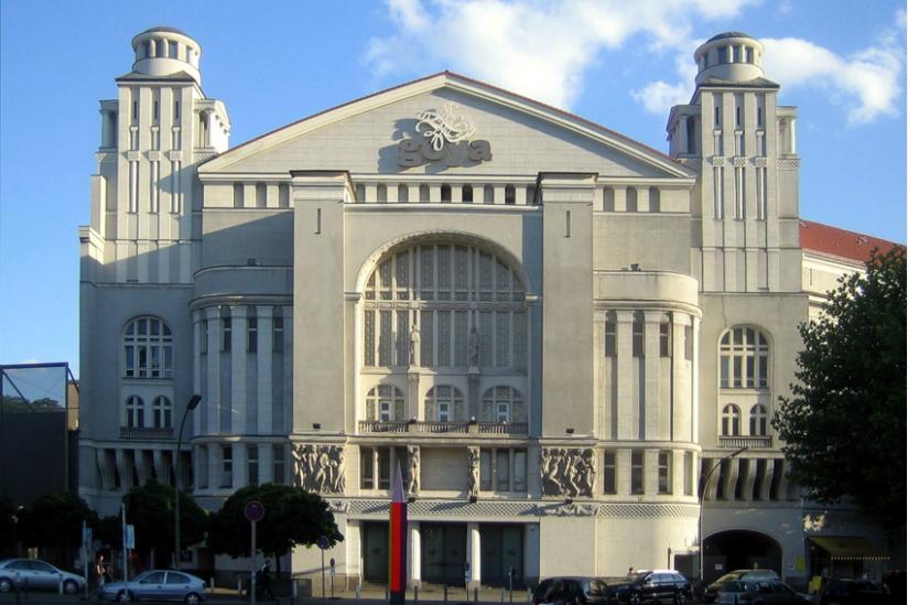 Das ehemalige Theater am Nollendorfplatz, Heimat der Piscator-Bühne