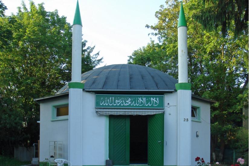 Nuur-Moschee, die erste Moschee in Frankfurt