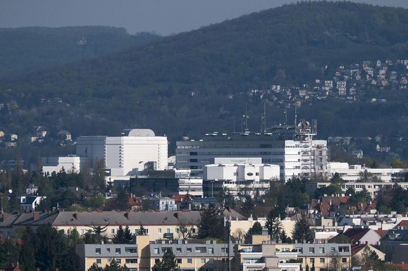 Das ORF-Zentrum Küniglberg in Wien