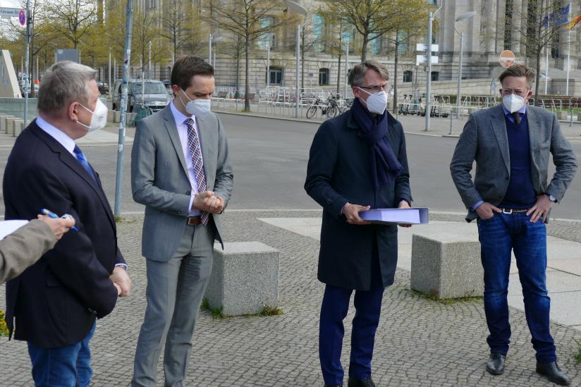 Die religionspolitischen Sprecher von vier Bundestagsfraktionen