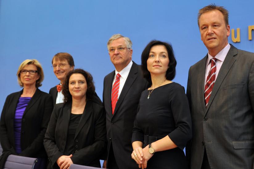 Vorstellung des Positionspapiers in der Bundespressekonferenz