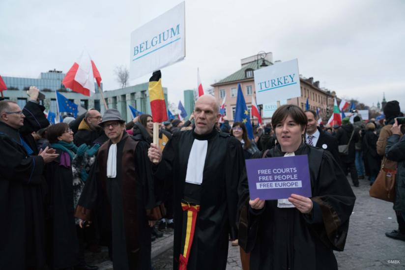 """""""Marsch der tausend Roben"""" am 11. Januar 2020 in Warschau"""