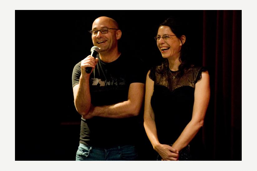 Die Regisseure Tal Granit und Sharon Maymon