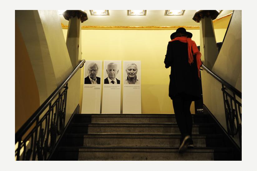 Ausstellung bei der Berliner Premiere