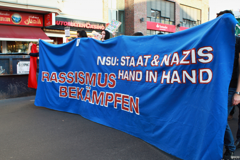 "Demo ""NSU: Staat und Nazis Hand in Hand"" am 01.11.14 in Berlin"