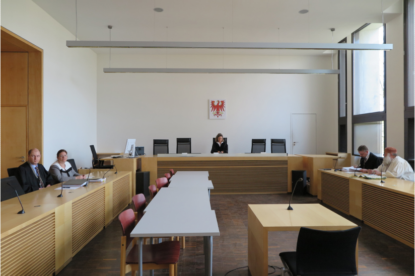 Landgericht Frankfurt/Oder, Saal 207