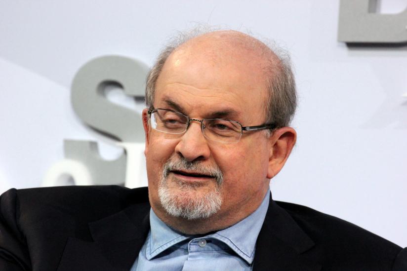 Salman Rushdie auf der Frankfurter Buchmesse 2017
