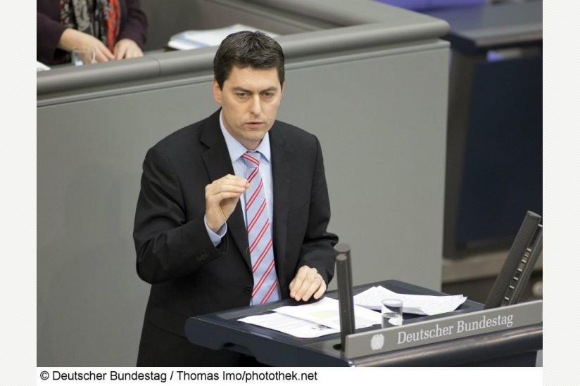 Sascha Raabe im Deutschen Bundestag