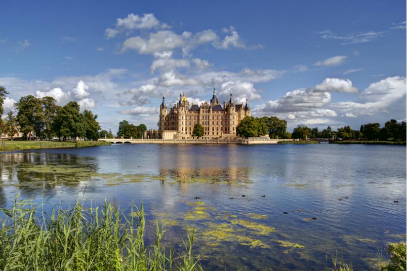 Schloss Schwerin, Sitz der Landesregierung