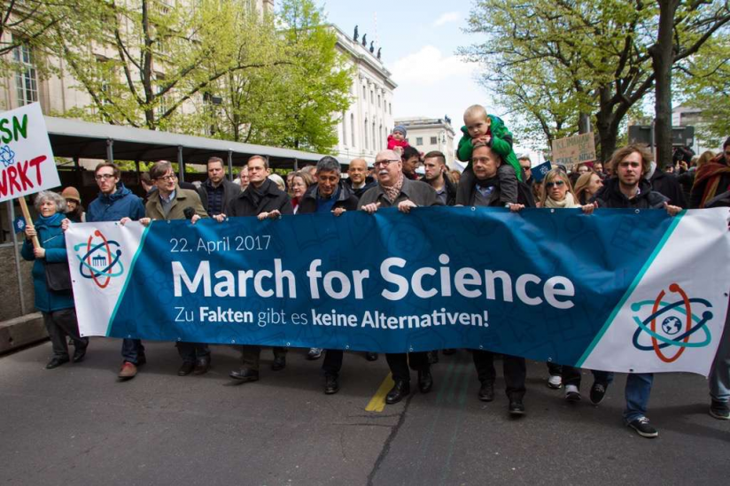 """March for Science"" 2017 in Berlin"