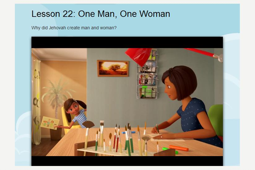 Screenshot Zeugen Jehovas