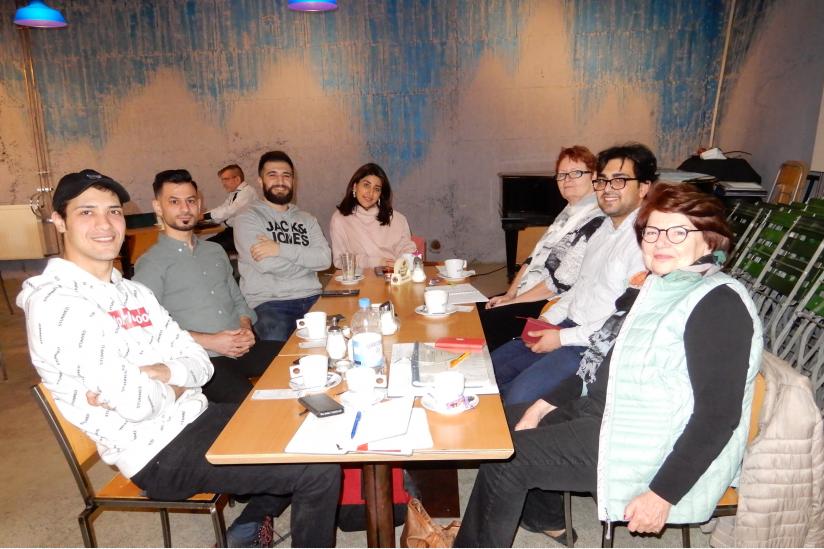 Stammtisch der Säkularen Flüchtlingshilfe Stuttgart