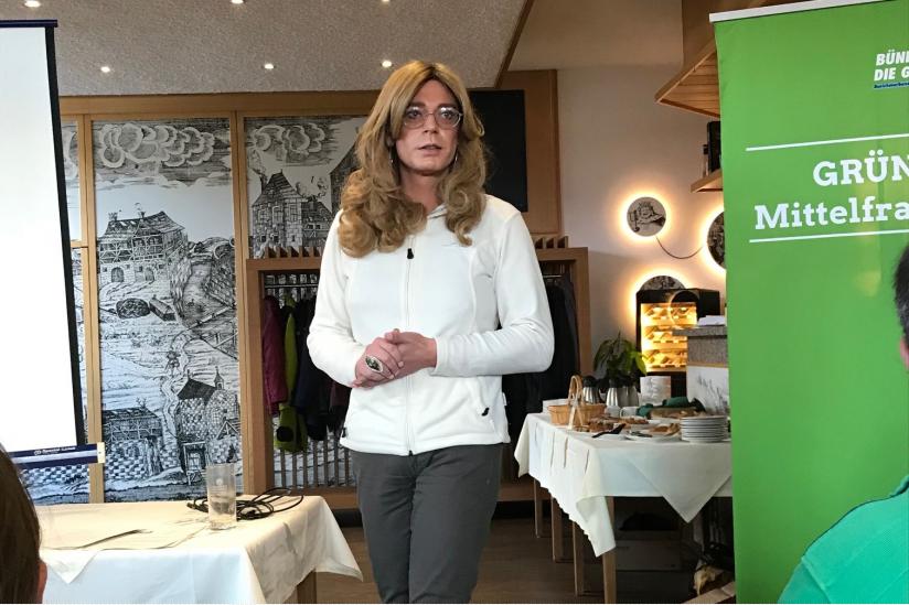Die Nürnberger Landtagspolitikerin Tessa Ganserer