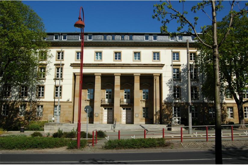 Thüringer Landtag in Erfurt
