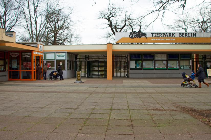 Tierpark Berlin, Haupteingang