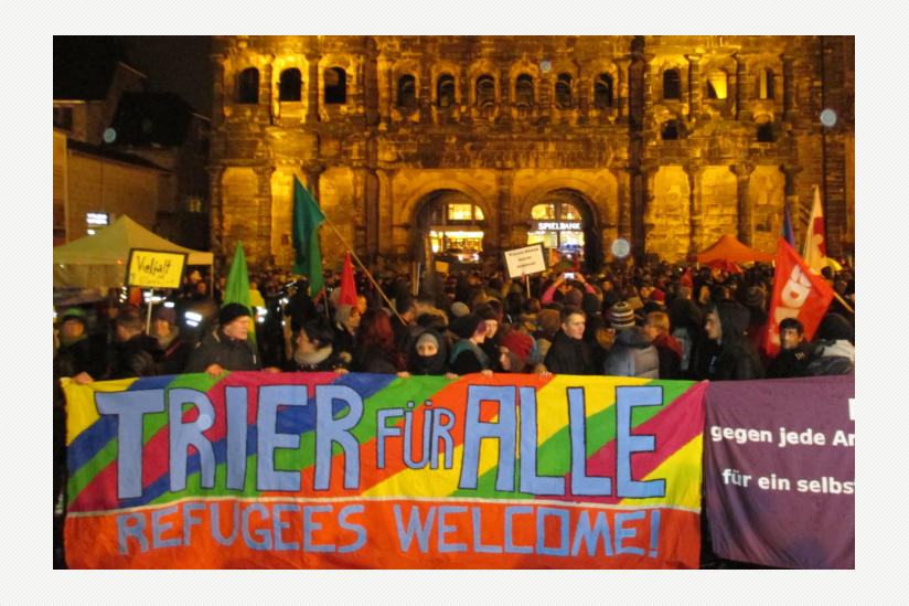Protest gegen PEGIDA