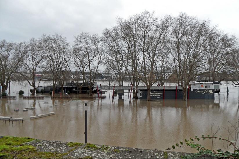Hochwasser in Koblenz