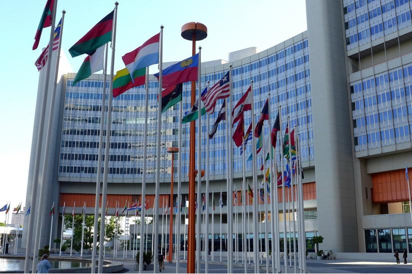 UN-Gebäude in Wien