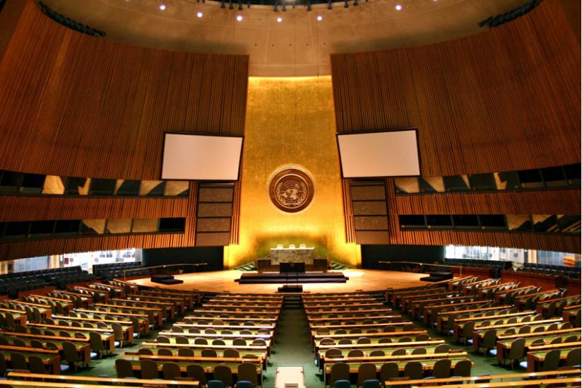 Die Generalversammlung der Vereinten Nationen
