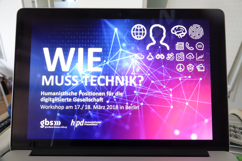 "Wie muss Technik"" – Workshop in Berlin"