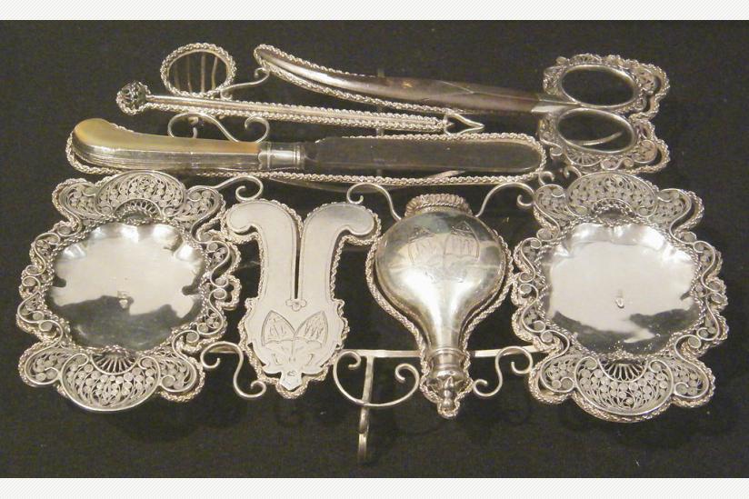Traditionelles jüdisches Beschneidungswerkzeug (im Jewish Museum (New York City)), 19. Jahrhundert (CC BY-SA 2.0)