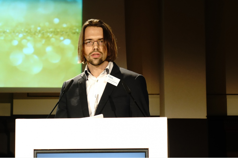 Florian Zimmermann, Präsident des HVD-Bundesverbandes
