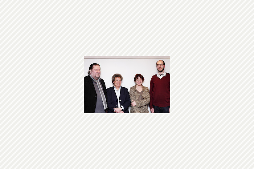 v.l.n.r.: Hans-Jürgen Rosin, Dr. Ingeborg Wirries, Petra Bruns, Christian Szymanek