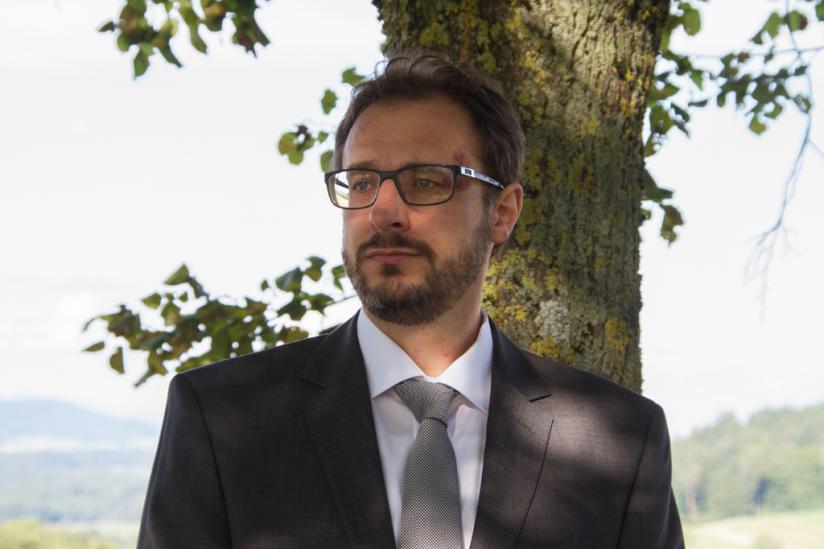 Valentin Abgottspon, Vizepräsident der Freidenkenden in der Schweiz