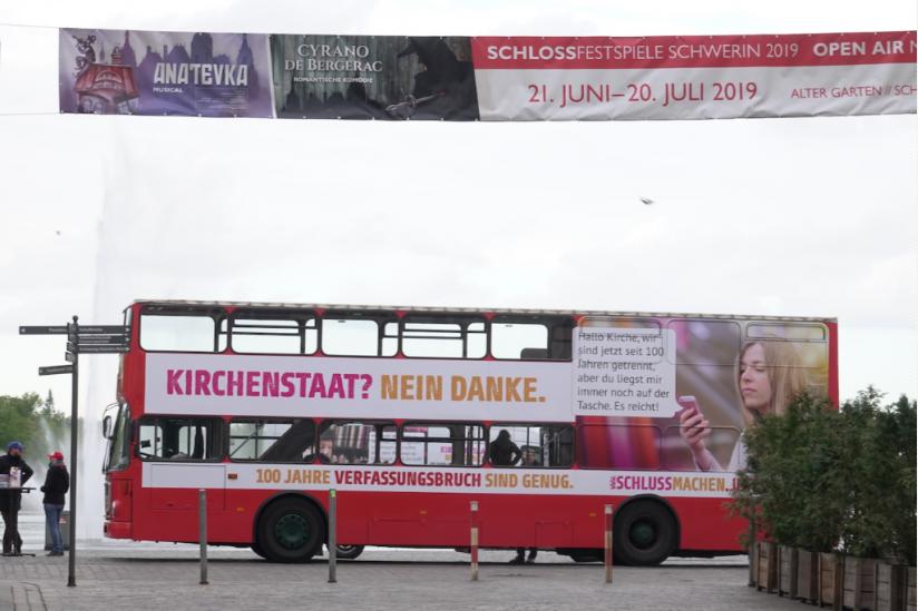 Der Bus in Schwerin