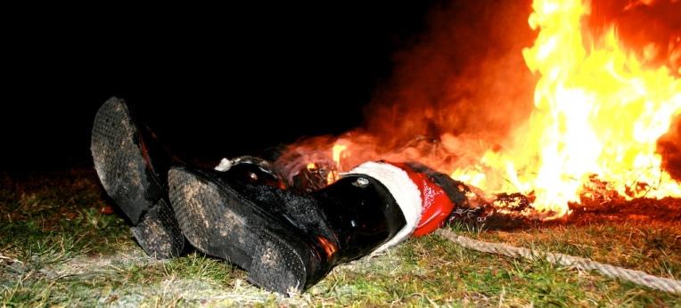 Fionn Kidney: Sorry Kids, Santa's Dead