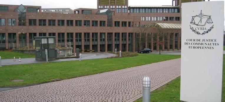 Sitz des Europäischen Gerichtshofes (EuGH) in Luxemburg