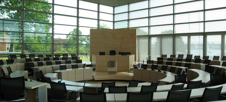 Plenarsaal des Schleswig-Holsteinischen Landtages