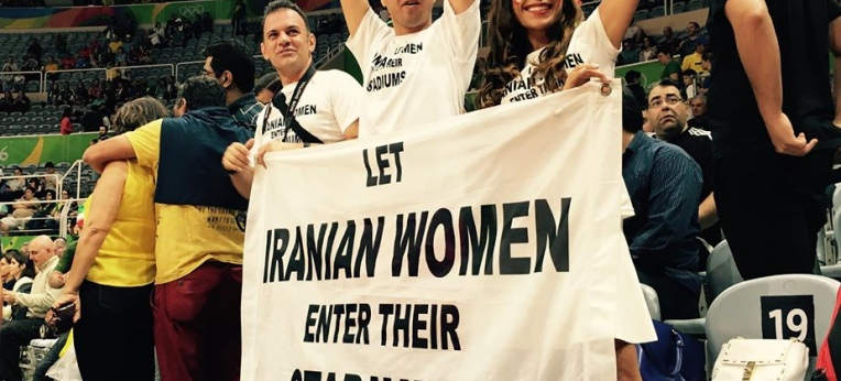 Let Iranian Women enter their stadiums