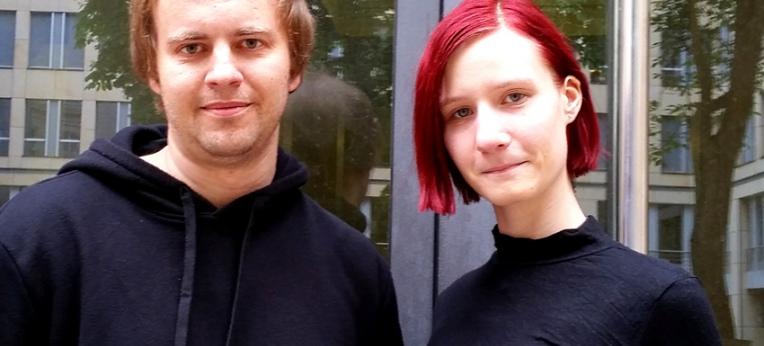 Jan Szyper und Laura Wartschinski