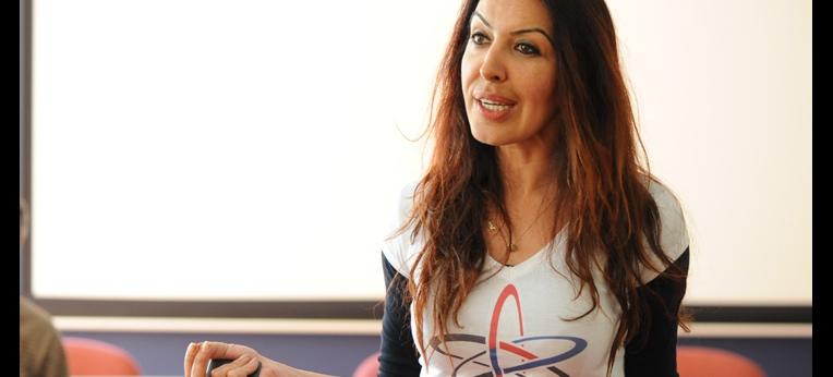 Zehra Pala: Vorstellung von Ateizm Derneği im DGB-Haus Berlin