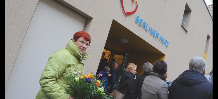 Berliner Herz mit seinen Gästen