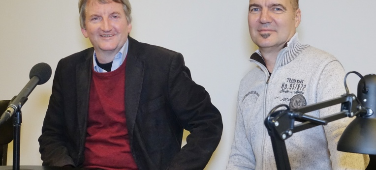 Heinz-Werner Kubitza (l.) und Hellge Haufe (r.)