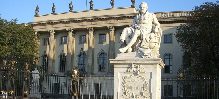 Die Humboldt-Universität in Berlin