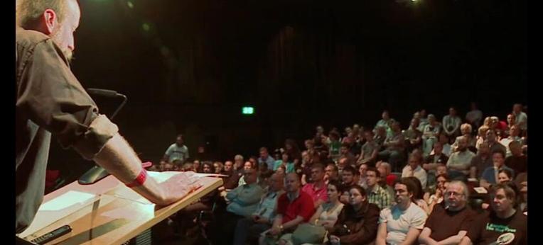 Gunnar Schedel bei der ersten internationalen atheistischen Convention