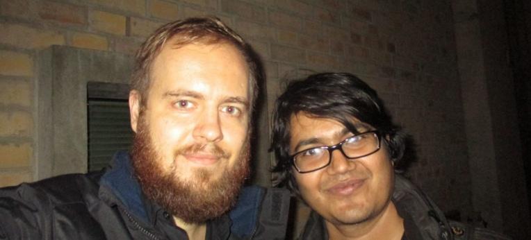 Jan Szyper (l.) und Asif Mohiuddin (r.)