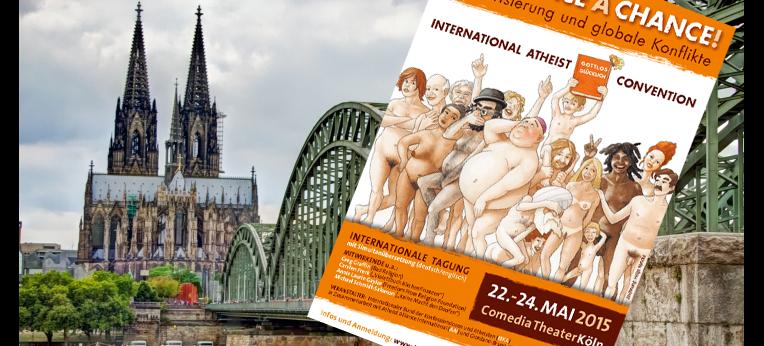 Atheist Convention 2015 in Köln